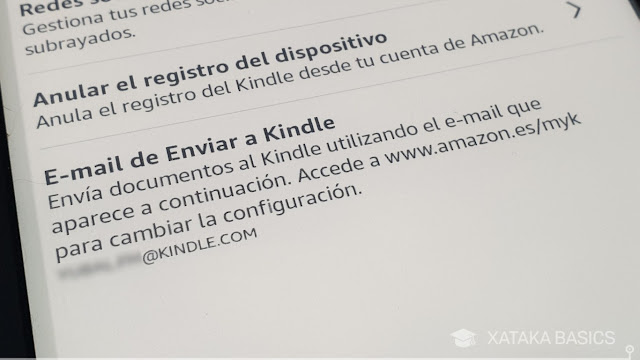 direccion email kindle