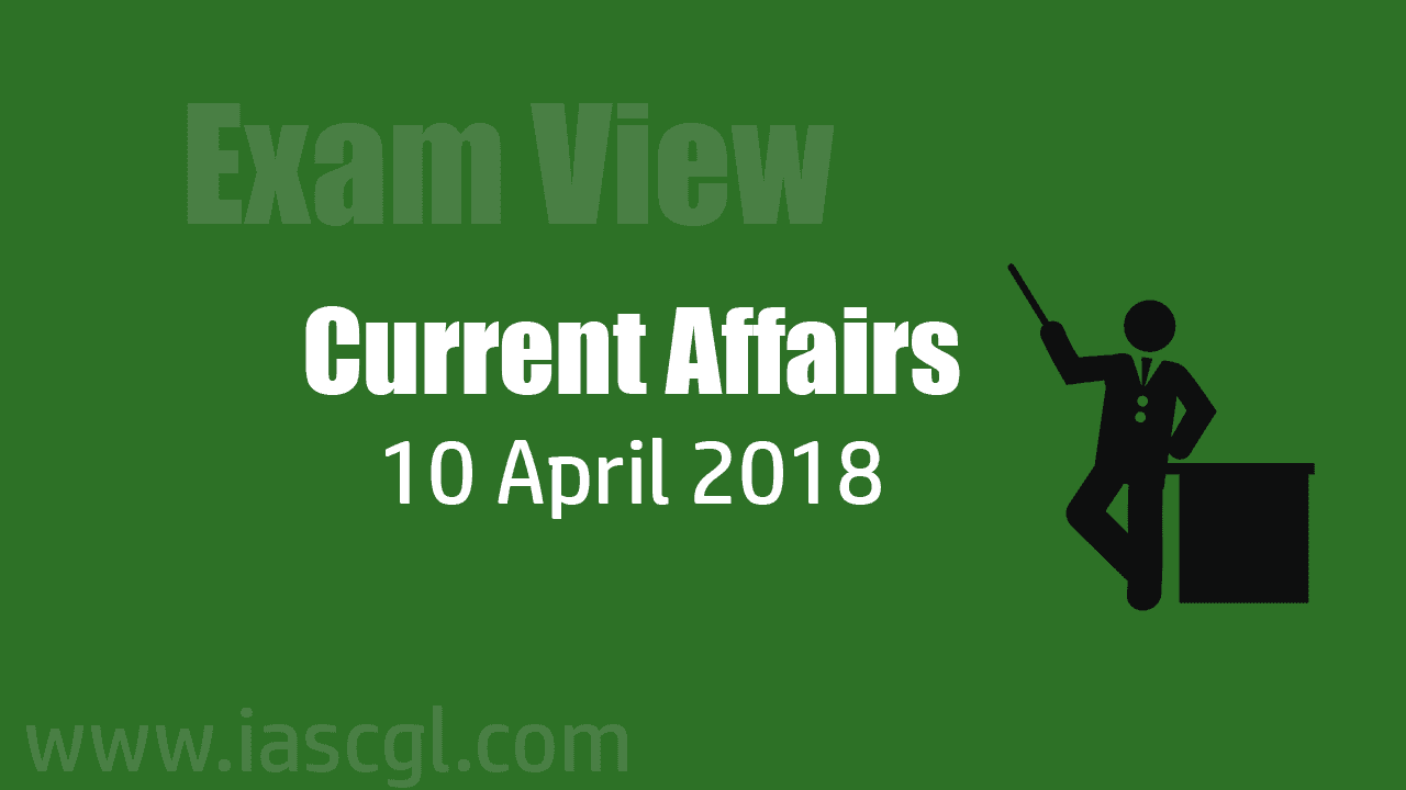 Current Affair 10 April 2018
