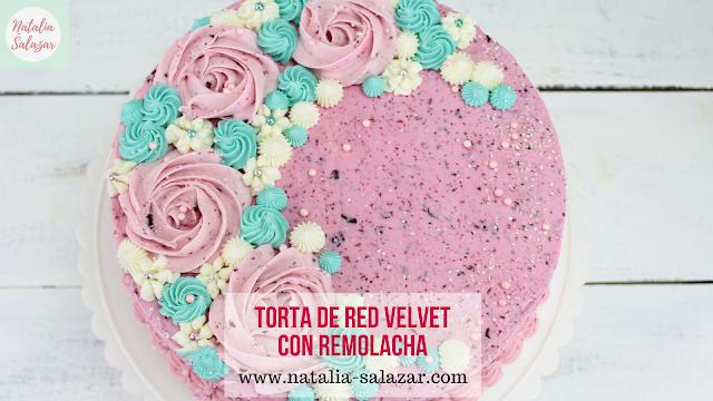 natalia salazar torta red velvet cake