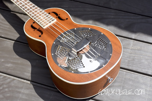 Sound Smith Resonator Ukulele body