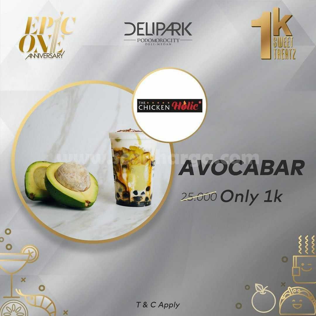 DeliPark Anniversary Promo harga Spesial Minuman atau Desert hanya Rp 1.000,-