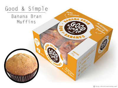 Good and Simple Muffins and Bars Review featuring Banana Bran Muffins