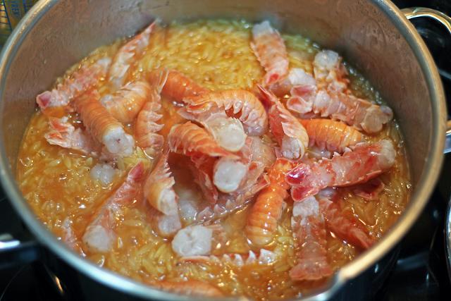 Κριθαρότο με Καραβίδες / Orzo with Crayfish