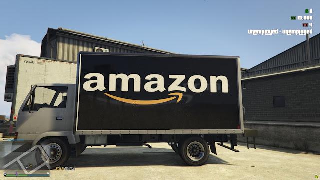Amazon Delivery Van   Amazon Delivery Van For Esx_Amazon_delivery_Job