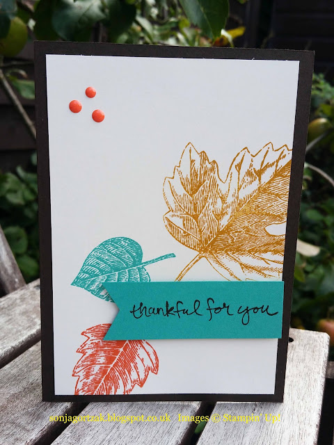 Stampin Up Vintage Leaves Stamps