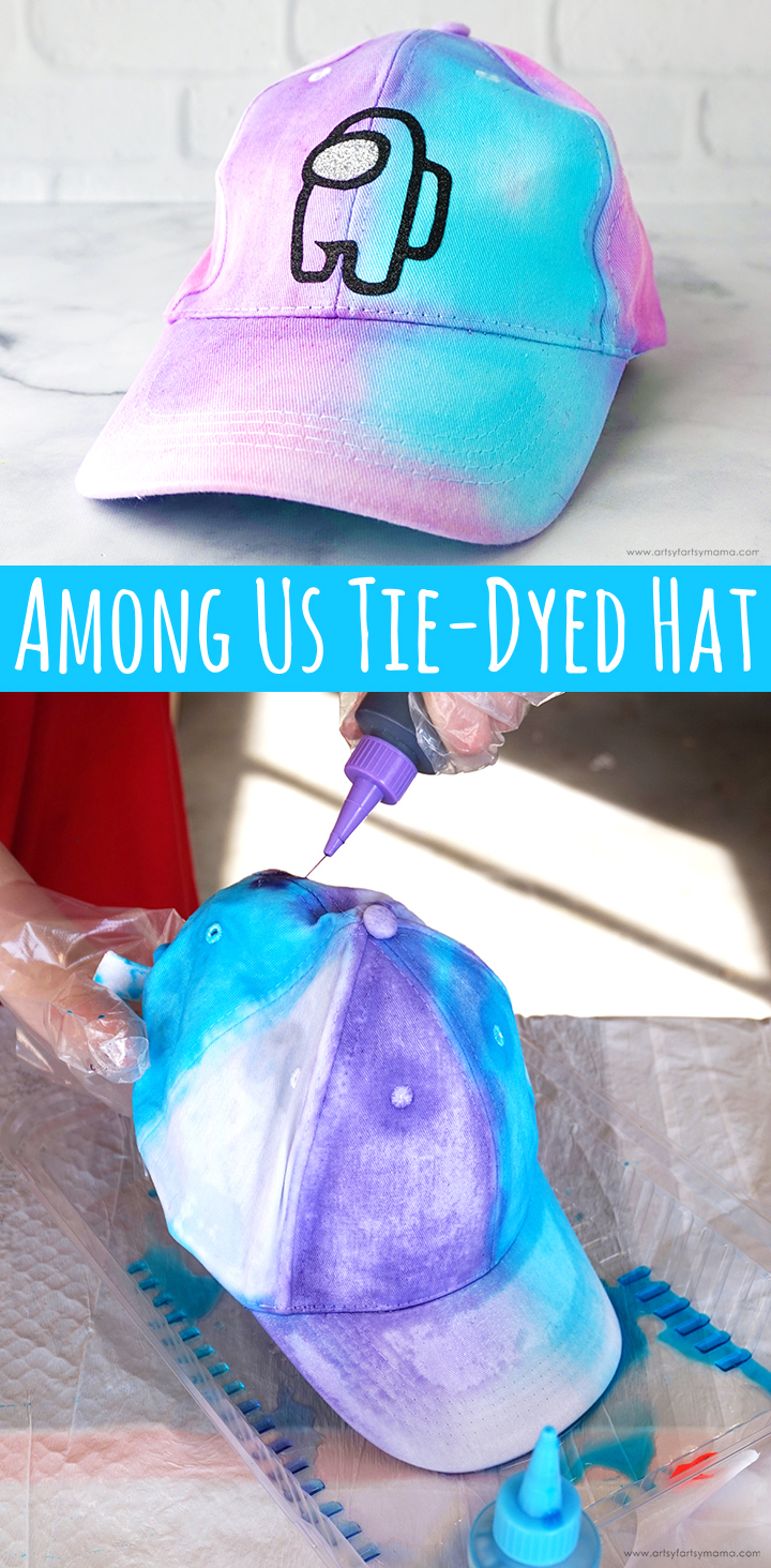 Among Us Tie-Dyed Hat