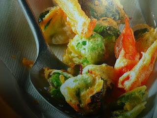 tempura di verdure leggera