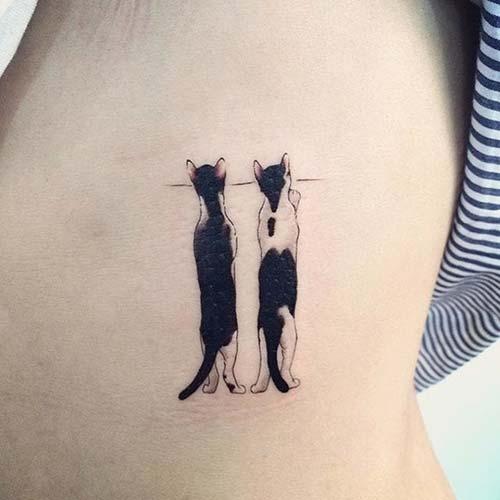 kedi dövmeleri cat tattoos 27