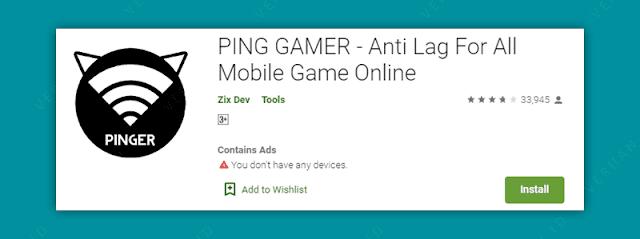ping gamer