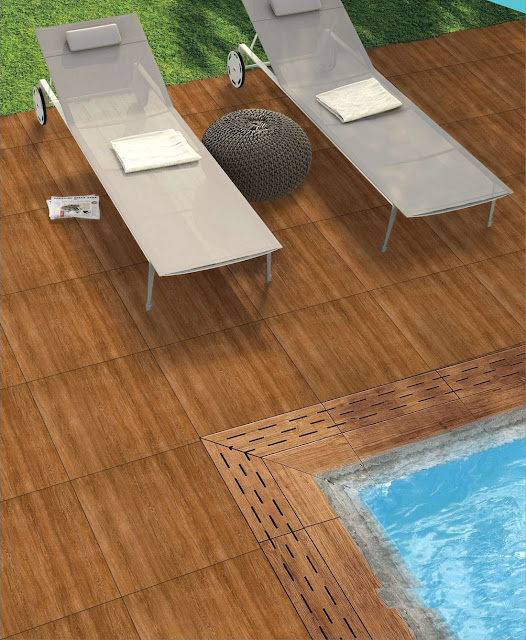 Wood Effect Porcelain Floor Tiles
