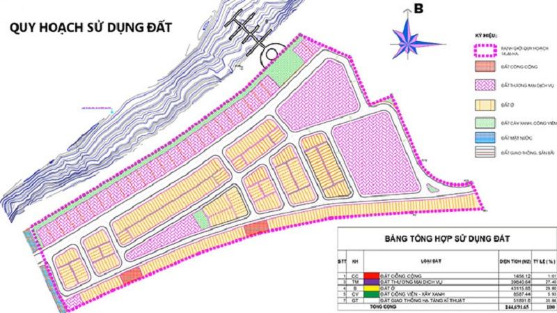 Quy hoạch 1/500 Dự án Nam Hội An City