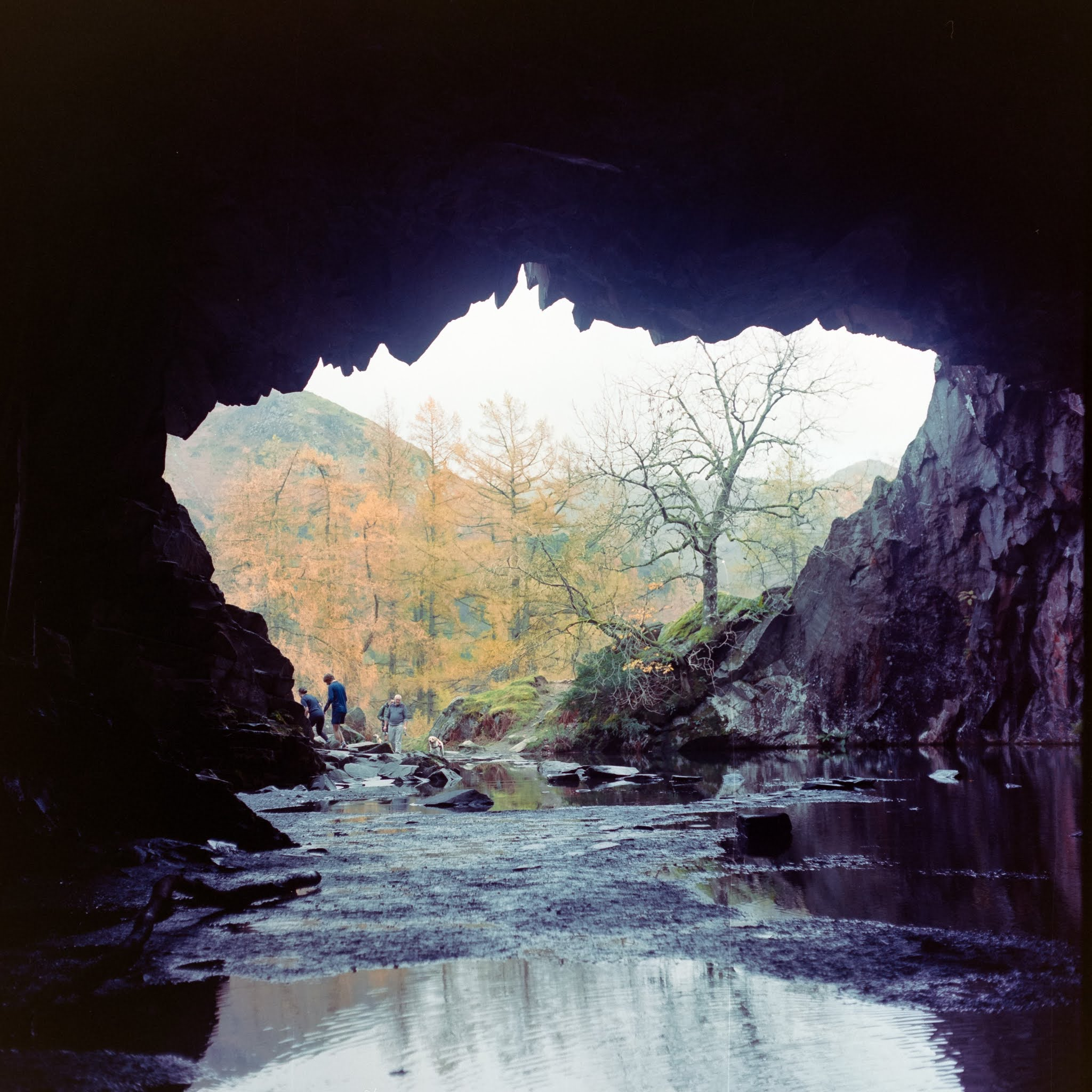 Inside Rydal Cave