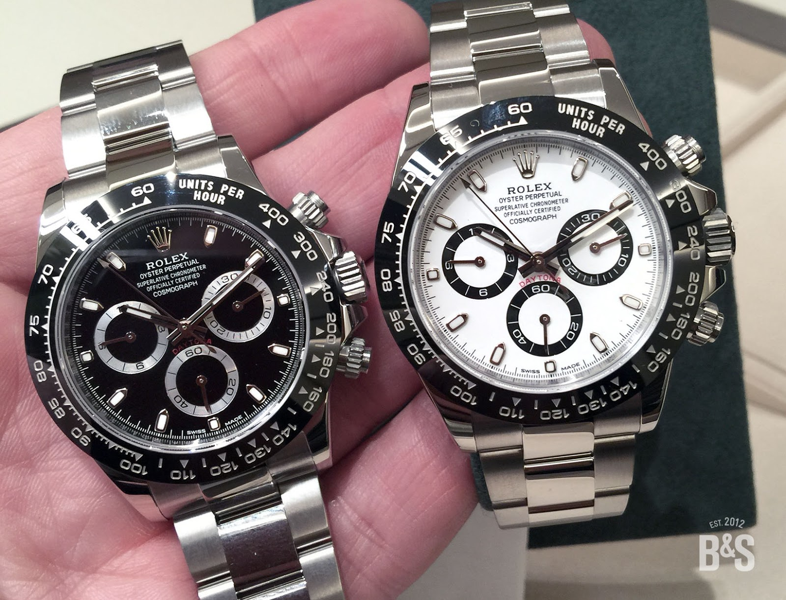 100percent rolex on the wrist the new rolex daytona at baselworld 2016. Black Bedroom Furniture Sets. Home Design Ideas