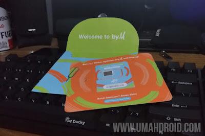 Review Kartu Perdana By.U dari Telkomsel