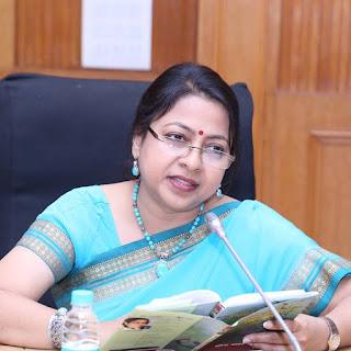 Sahitya Akademy award winner Paramita Satpathy