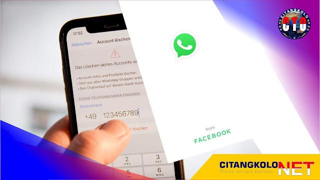 Kenapa ada Tulisan from Facebook di WhatsApp?