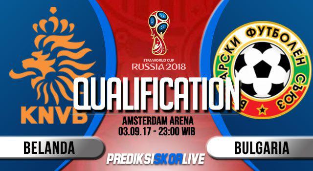 Prediksi Bola Belanda vs Bulgaria