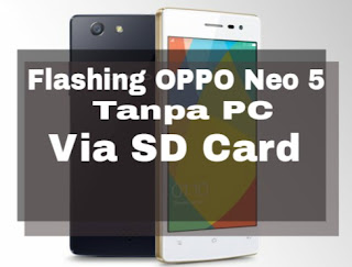 Flashing oppo Neo 5