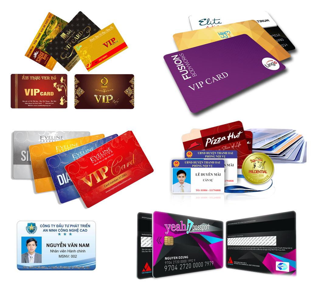In thẻ nhựa cho doanh nghiệp tại Đà Nẵng