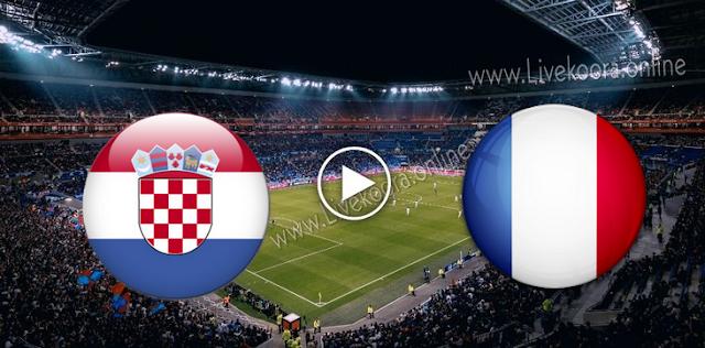 موعد مباراة كرواتيا وفرنسا بث مباشر بتاريخ 14-10-2020 دوري الأمم الأوروبية