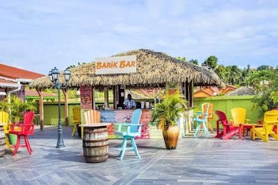 Bar en extérieur Hotel Bambou