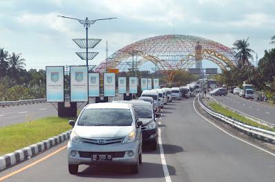 Sambut New Normal Pelaku Pariwisata Lombok Konvoi