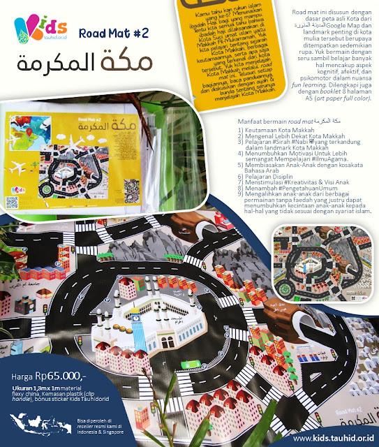 Produk Mainan Edukatif: Road Mat #2 (Makkah)