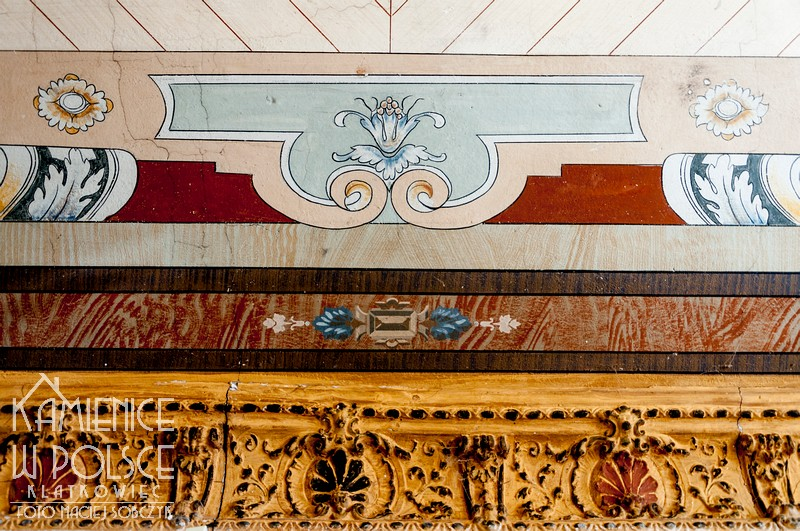 Bydgoszcz. Kamienica. Historyzm. Architektura. Malowany sufit.