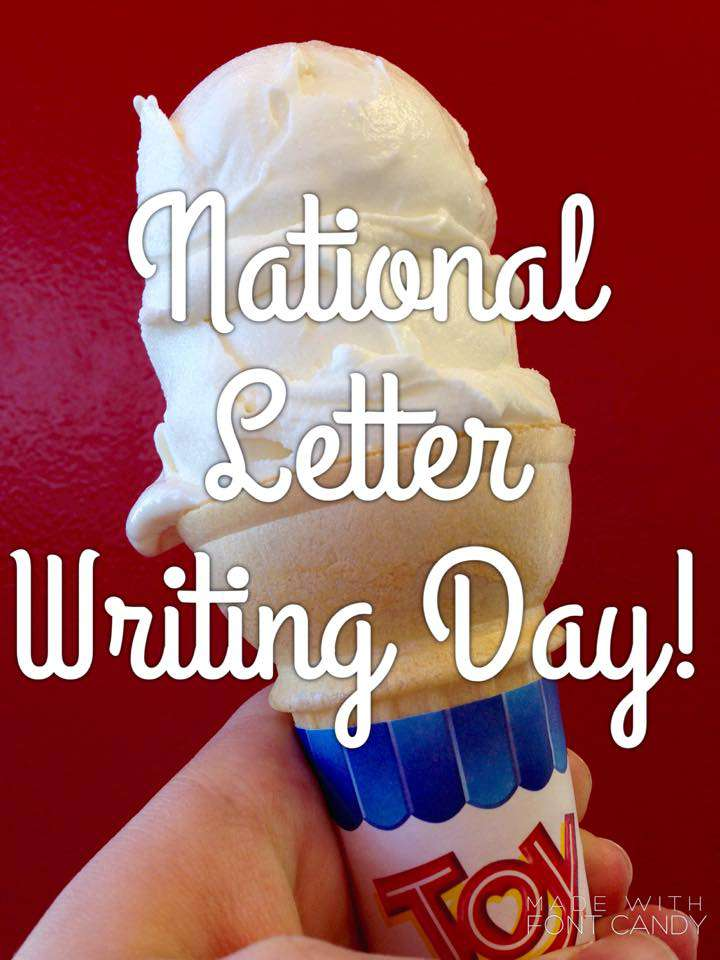 National Letter Writing Day Wishes Images