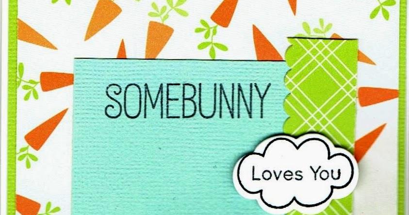live love stamp somebunny loves you. Black Bedroom Furniture Sets. Home Design Ideas