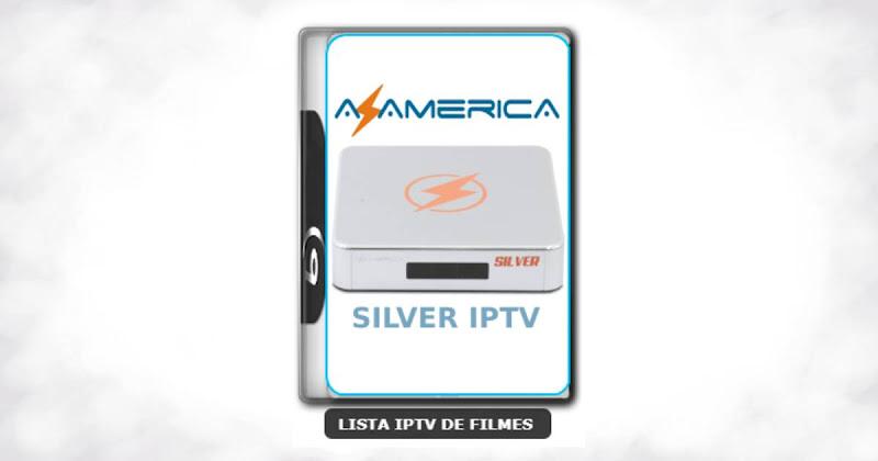 Azamerica Silver IPTV nova atualização com melhorias na estabilidade do sistema V1.28