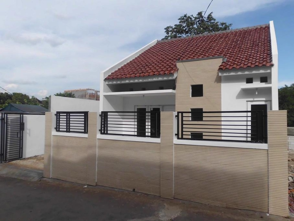 Hasil proyek Bangun Baru rumah 1 Lantai milik Ibu Mena Madayani di Jl. Tazmania, Tanah Baru, Bogor, Tahun 2013