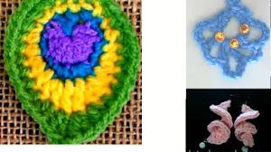 Aretes, pendientes, aros tejidos al crochet DIY / 6 Tutoriales en video