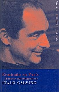 """""""Ermitaño en París"""" - Italo Calvino"""