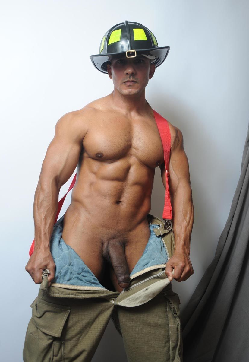 Gay firemen high resolution stock photography and images
