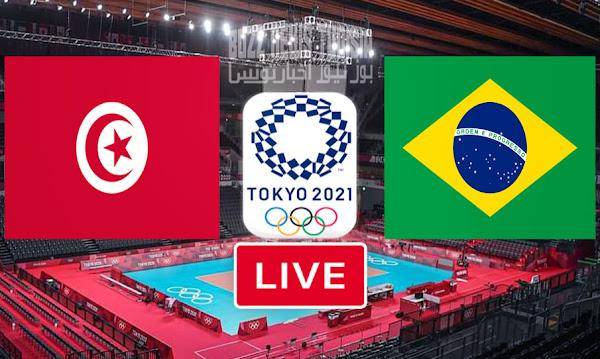 Match Tunisia vs Brazil Live Streaming Tokyo Olympics 2020 Volleyball