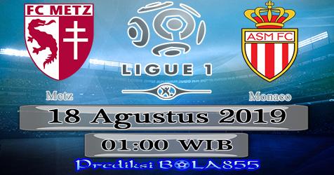 Prediksi Bola855 Metz vs Monaco 18 Agustus 2019