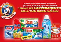 """Concorso """"Un anno di casa 2021"""" : con Henkel Detergenza vinci buoni da € 6.780 per arredare la tua casa"""