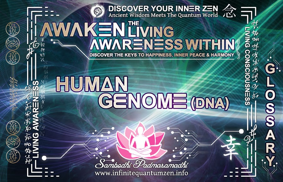 Human Genome (DNA) - Awaken the Living Awareness Within, Author: Sambodhi Padmasamadhi – Discover The Keys to Happiness, Inner Peace & Harmony | Infinite Quantum Zen