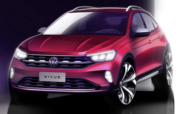 Volkswagen Nivus: apresentação dia 28, a partir das 11h