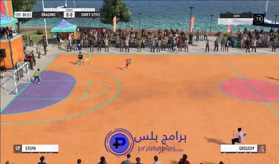 لعبة فيفا كرة الشوارع 2021