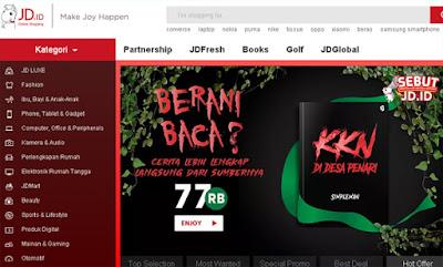 toko online bisa bayar di tempat jdid