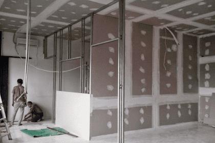 Review Partisi Gypsum Board Untuk Dinding dan Plafon
