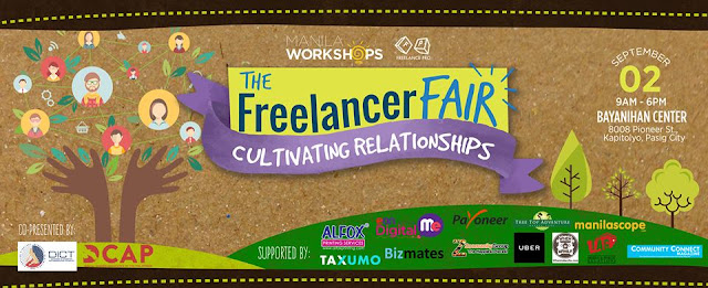 The Freelance Fair 2017, Manila Workshops, SJ Valdez