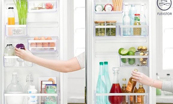Tủ lạnh sở hữu ngăn kệ linh hoạt