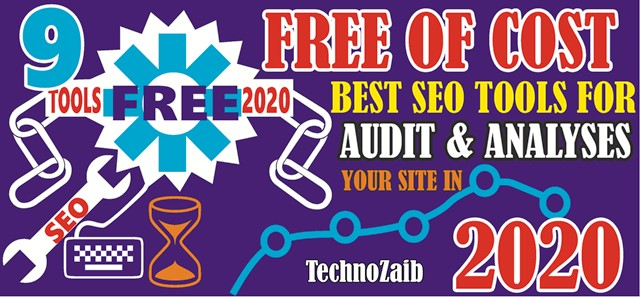 8+ Free of Cost Best SEO Tools for Audit & analyses your site in 2020