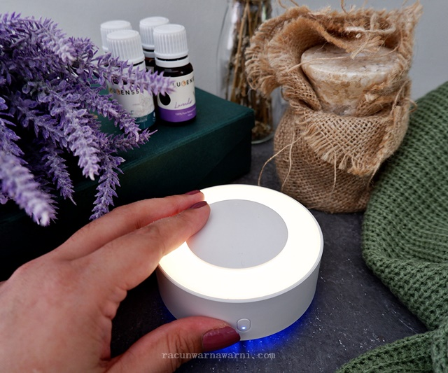 Review Lucensse Roundy Waterless Portable Diffuser