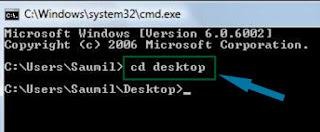 CD desktop Cara Menyembunyikan File