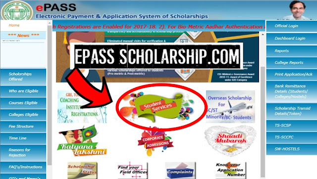 how to apply epass scholarship
