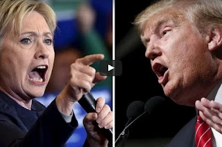 US Presidential Hottest Debate: Watch Video As Trump Threatens To JAIL Clinton